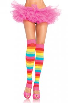 The Rainbows - Leg Warmers von Leg Avenue
